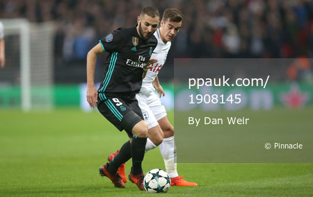 Tottenham Hotspurs v Real Madrid, London - UK - 1st November 2017
