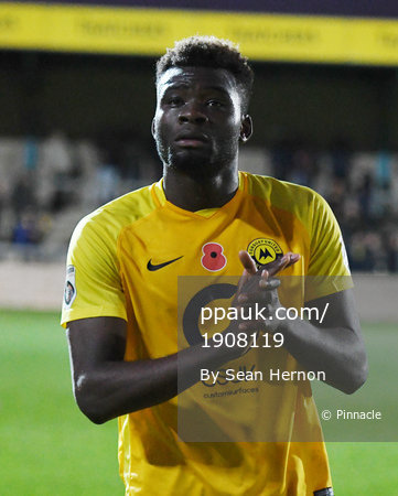 Torquay United v Maidstone United, Torquay, UK - 11 Nov 2017