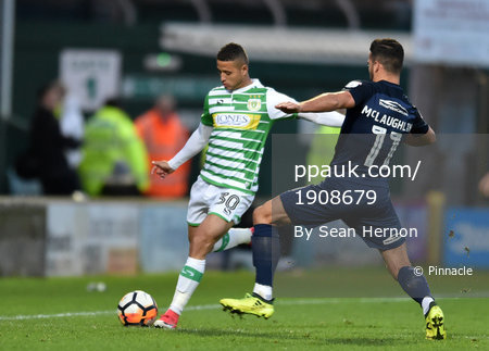 Yeovil Town v Southend United, Yeovil, UK - 4 Nov 2017