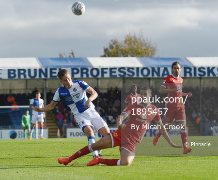 Bristol Rovers v MK Dons, Bristol, UK - 28 Oct 2017