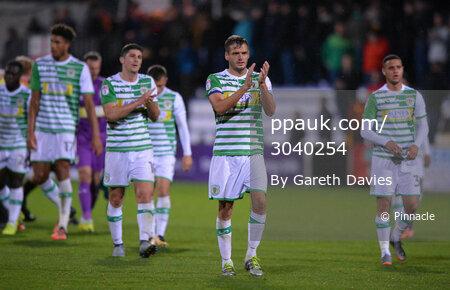 Cambridge United v Yeovil Town, Cambridge, UK - 17 October 2017