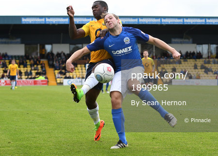 Torquay United v Dover Athletic, Torquay, UK - 07 Oct 2017
