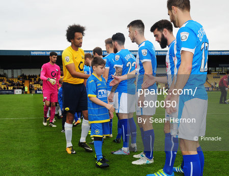 Torquay United v Hartlepool United, Torquay, UK - 28 Oct 2017