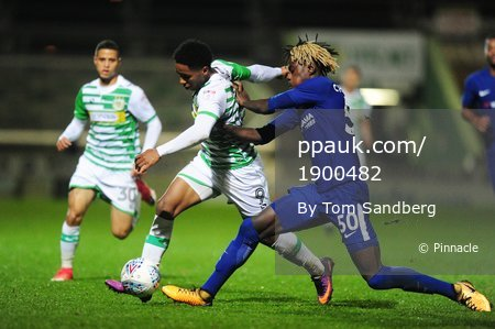 Yeovil Town v Chelsea u21, Yeovil, UK - 25 Oct 2017