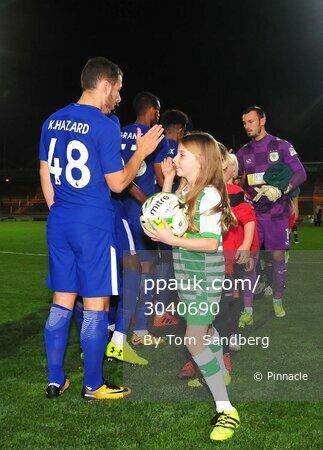 Yeovil Town v Chelsea u21, Yeovil, UK - 25 Oct 2017