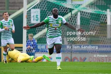 Yeovil Town v Stevenage, Yeovil, UK -28 Oct 2017