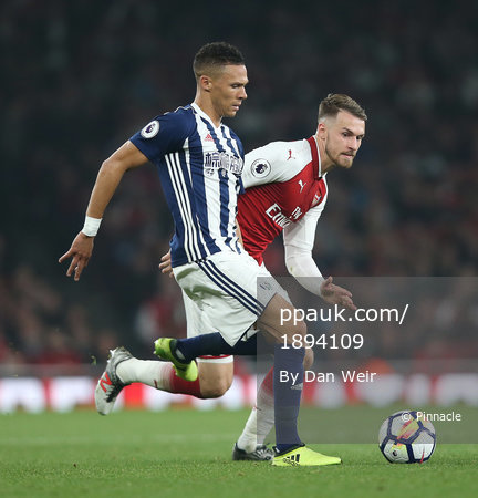 Arsenal v West Bromwich Albion, London, UK - 25th September 2017