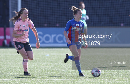 Crystal Palace Women v Sheffield United Women, Bromley - 4 April 2021