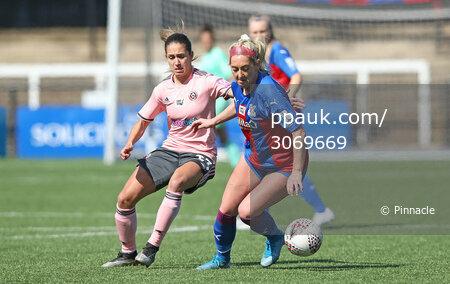 Crystal Palace Women v Sheffield United Women, Bromley - 4 April 2021