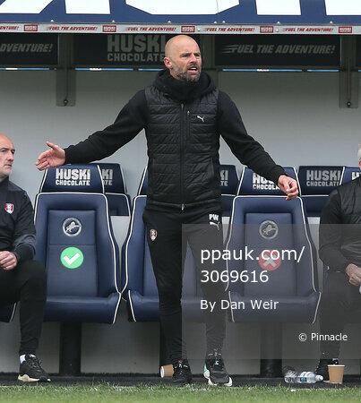 Millwall v Rotherham United, London - 2 April 2021