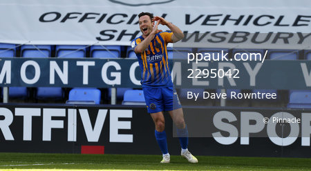 Shrewsbury Town v Plymouth Argyle, Shrewsbury, UK - 5 Apr 2021