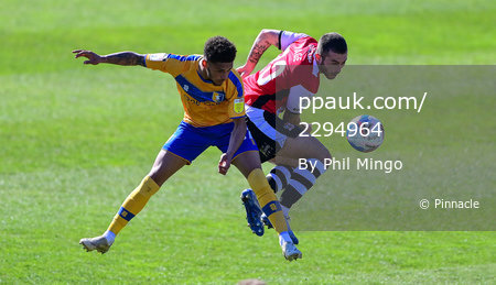 Exeter City v Mansfield Town, Exeter, UK - 5 Apr 2021