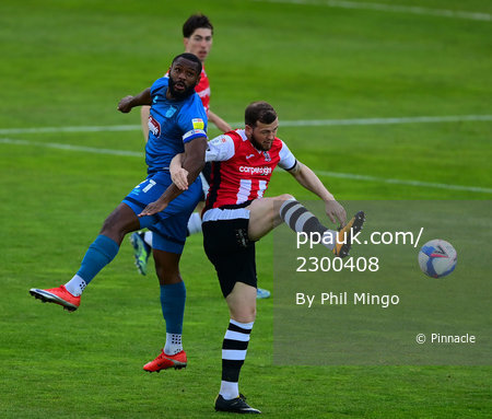 Exeter City v Grimsby Town, Exeter, UK - 27 Apr 2021