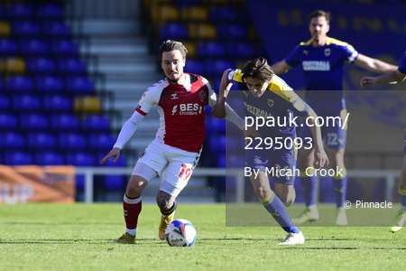 AFC Wimbledon v Fleetwood Town, London, UK - 05 April 2021