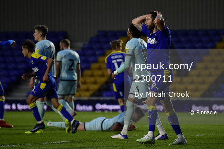 AFC Wimbledon v Rochdale, London, UK - 27 April 2021