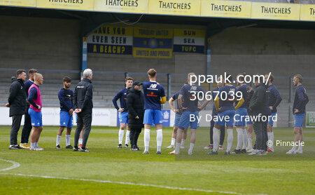 Torquay United v Aldershot Town, Torquay, UK - 27 Apr 2021