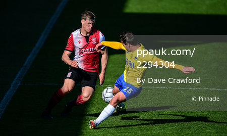 Torquay United v Woking, Torquay, UK - 2 Apr 2021