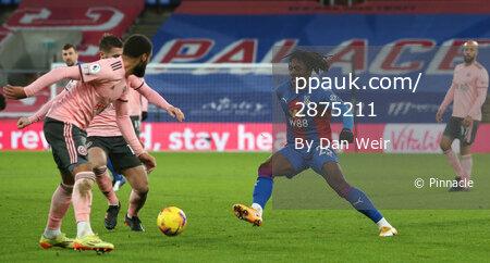Crystal Palace v Sheffield United, Croydon - 02 January 2021
