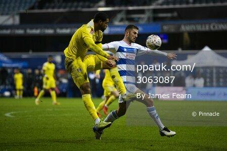 Queens Park Rangers v Fulham, London, UK - 9 Jan 2020.