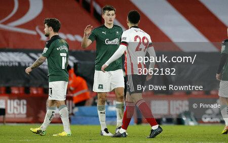 Sheffield United v Plymouth Argyle, Sheffield, UK - 23 Jan 2021