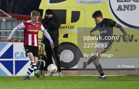Exeter City v Sheffield Wednesday, Exeter, UK - 9 Jan 2021