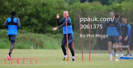 Torquay United Training,Seale Hayne, UK - 10 June 2021