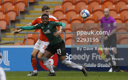 Blackpool v Plymouth Argyle, Blackpool, UK - 27 Mar 2021