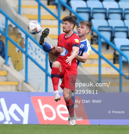 Gillingham v Wigan Athletic, Gillingham - 31 March 2021