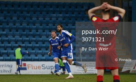 Gillingham v Wigan Athletic, Gillingham - 31 March 2021