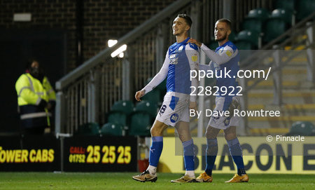 Plymouth Argyle v Peterborough United, Plymouth, UK - 23 Feb 2021