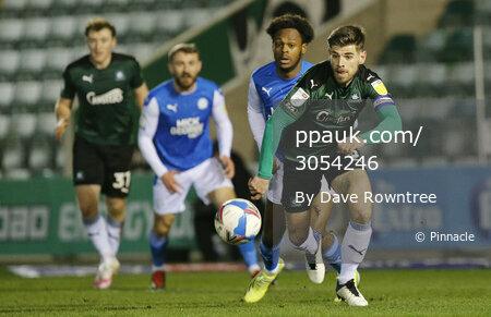 Plymouth Argyle v Peterborough United, Plymouth, UK - 23 Feb 2021