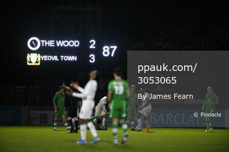 Boreham Wood v Yeovil Town, Hertfordshire, UK - 16 Feb 2021.