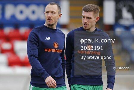 Hartlepool United  v Yeovil Town, Hartlepool, UK - 20 Feb 2021