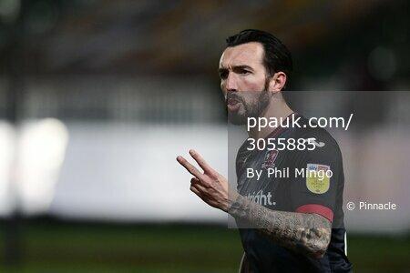 Newport County v Exeter City, Newport, UK - 16 Feb 2021