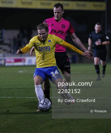 Torquay United v FC Halifax Town, Torquay, UK - 20 Feb 2021