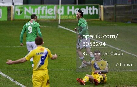 Yeovil Town v Altrincham, Yeovil, UK - 13 Feb 2021
