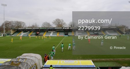 Yeovil Town v Altrincham, Yeovil, UK - 13 Feb 2021
