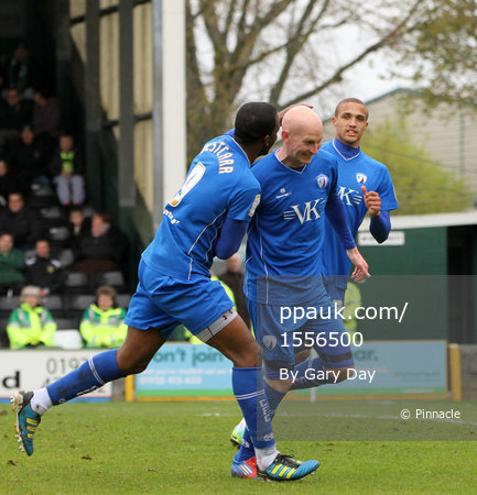 Yeovil v Chesterfield 280412