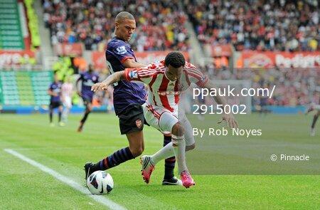 Stoke v Arsenal  260812