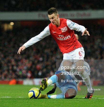 Arsenal v Aston Villa  290112