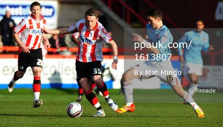 Exeter City v Charlton 280112