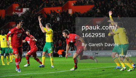 Southampton v Norwich City 281112