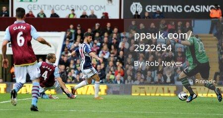 Aston Villa v WBA  300912