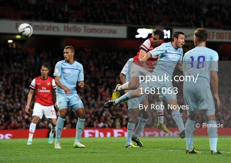 Arsenal v Coventry  260912