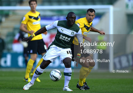 Plymouth Argyle v Southend 290912