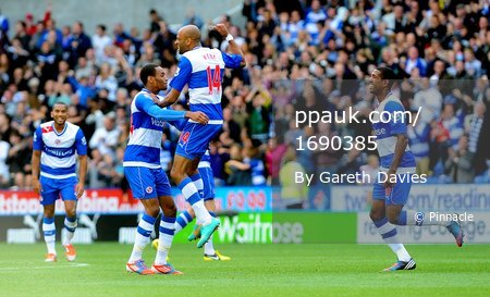 Reading v Newcastle United 290912