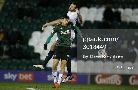 Plymouth Argyle v Oxford United, Plymouth, UK - 29 Dec 2020
