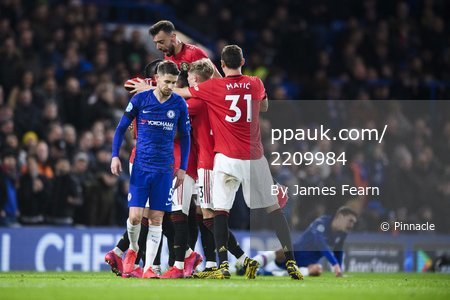 Chelsea v Manchester United, London, UK - 17 Feb 2020.