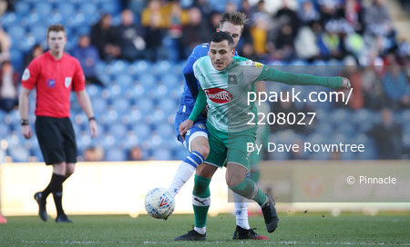 Colchester United v Plymouth Argyle, Colchester, UK - 8 Feb 2020