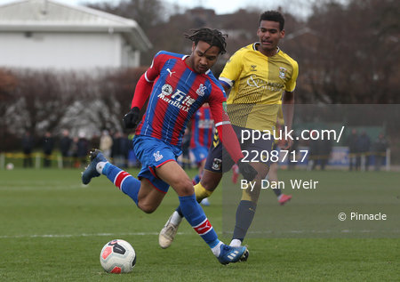 Crystal Palace U23s v Coventry City U23s, Beckenham - 10 February 2020
